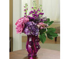Perfect In Purple (Roses,Lilies)