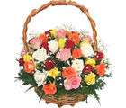 Mixed Roses Basket (Roses)