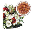 Flowers and Gulab Jamun