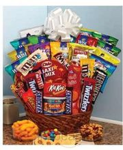 Super Sweet Snack Gift Basket - Same Day Delivery
