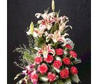 Heavenly Glow (Carnations, Orchids, Lilies)