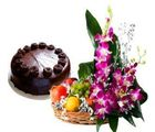 Make Him Proud (Flowers,Fruits,Cake)
