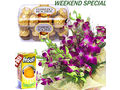 Orchids Bunch With Ferrero Rocher