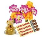Gift Hamper - Artificial Flowers, Chocolates and Teddy bear