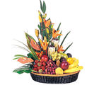 Fruit n Flower Basket