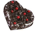 Heart Shape Cake (1 kg, Heart)