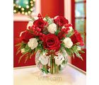 1-800-Flowers Bouquet Peace On Earth Holiday (Roses,Carnations)