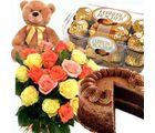 Delicious Flower Hamper
