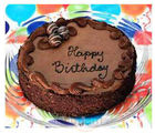 Chocolate Birthday Cake (500 gm, Round)