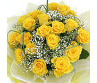 20 Yellow Roses Bunch (Roses)