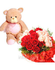 Rose With Teddy