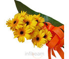 Yellow Gerbara Bunch (Gerberas)