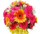 Season Of Love (Roses,Gerberas)