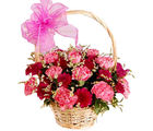 Colourfull Carnation Basket (Carnations)