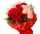Red & Pink Roses Bunch (Roses)