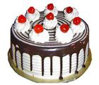Blackforest Eggless Cake (1 kg, Round)