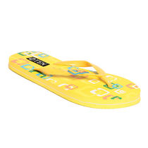 TEN Women's Flip-Flops,  yellow, 36