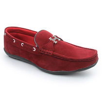 Bacca bucci Men's Loafers, 9,  red