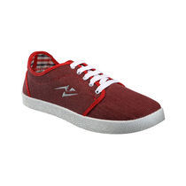 Yepme Men Red Canvas Casual Shoes - YPMFOOT7847, 9