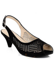 Martini Back Strap Perforated Sandal