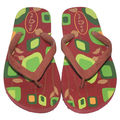 Flots Flipflops Trendy Fashion Wear Slipper - 1425, maroon, 6