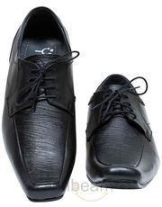 Yepme Black Formal Lace-up Shoes