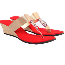 Maalpani Gorgeous Party Wedges For Women - MAP09002, multicolor, 9