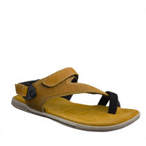 Woodland Men Casual Sandal, gold, 39