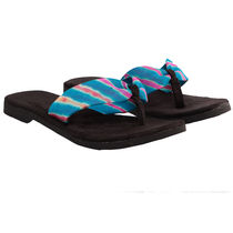 Maalpani Lehriya Traditional Flipflop For Women - MAP09005, multicolor, 9