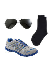 Combo of Camro Shoes With Socks & Sunglasses, 7