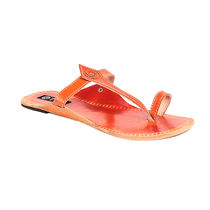 TEN Women's Ethnic Slippers,  orange, 38