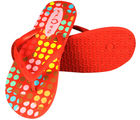 Flots Womens Flip Flop- 1422-Red (Red, 5)
