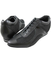 Hike Elevator Shoes for Men 2048-1B (Black, 7.5)