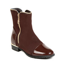 TEN Women's Ankle Length Boots,  brown, 36
