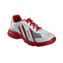 Yepme Men White & Red Rexine Sports Shoes - YPMFOOT7924, 9
