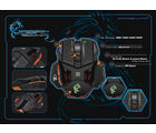 DRAGON WAR ELE-G4 PHANTOM GAMING MOUSE, black