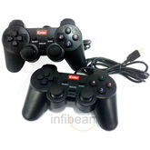 Enter E-GPV USB Game Pad W Vibration (Set of 2 Units)