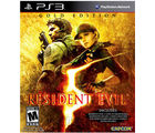Resident Evil 5 (Gold Edition) (Game, PS3)