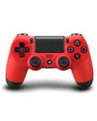 Sony Dualshock 4 Wireless Controller For PS4,  red
