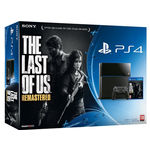 Sony PlayStation 4 - The Last of Us: Remastered Bundle, dvd, ps4, black