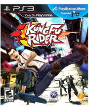 Kung Fu Rider (Move Required) (Game, PS3)