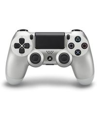 Sony DualShock4 Wireless Controller Gamepad,  silver