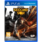 Infamous: Second Son (Games, PS4), dvd, ps4
