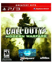 Call Of Duty 4: Modern Warfare (Game, PS3), dvd