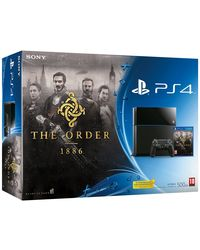 Sony PlayStation 4 - The Order 1886 Bundle, black