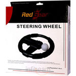 Red Gear Steering Wheel for PS3 Move, black