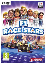 F1 Race Stars (Games, PC), dvd