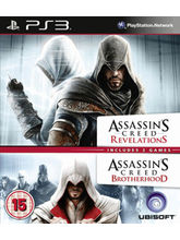 Assassinc Creed Double Pack ( Brotherhood+ Revelations) (Games, PS3)