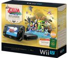 Nintendo Wii U - Legend of Zelda Limited Edition (NTSC), black