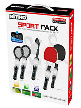Nitho Move Sport Pack for PS3 Move, multicolor